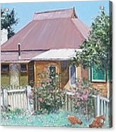 Country Cottage Acrylic Print