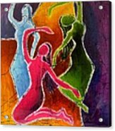 3 Dancers Acrylic Print