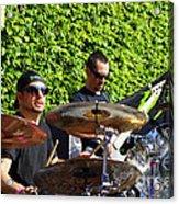 Dave Lombardo And Pancho Tomaselli Acrylic Print