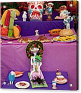 Day Of The Dead Remembrance, Mexico Acrylic Print