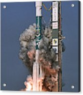 Delta II Rocket Launch Acrylic Print