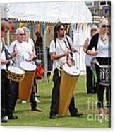 Dende Nation Samba Drum Troupe Acrylic Print