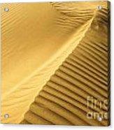 Desert Sand Dune Acrylic Print