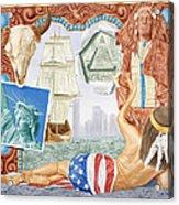 Destruction Of Native America Acrylic Print