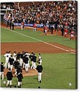 Division Series - Washington Nationals Acrylic Print