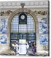 Dom Luis Bridge Porto Portugal Acrylic Print