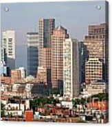 Downtown Boston Skyline Acrylic Print