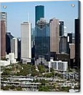 Downtown Houston Skyline Acrylic Print