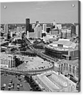 Downtown Skyline Of St. Paul Minnesota Acrylic Print