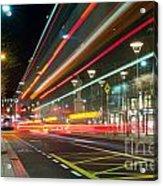 Dublin At Night Acrylic Print