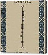 Dunne Written In Ogham Acrylic Print