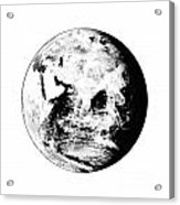 Earth Globe Acrylic Print