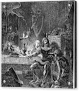 Edward (1330-1376) Acrylic Print
