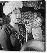 Ella Fitzgerald (1917-1996) Acrylic Print by Granger