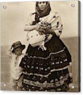 Ellis Island Women, C1910 Acrylic Print