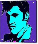 Elvis The King Acrylic Print