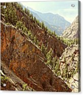Engineer Pass In Colorado  Acrylic Print
