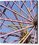 Evergreen State Fair Ferris Wheel Acrylic Print