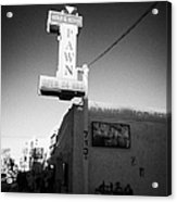 famous gold and silver pawn shop downtown Las Vegas home to the tv series pawn stars Nevada USA Acrylic Print