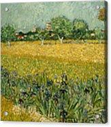 Field With Flowers Near Arles Acrylic Print