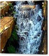 Finlay Park Waterfall 2 Acrylic Print