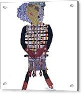 3 Ft Paper Doll Acrylic Print