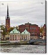 Gamla Stan. Stockholm 2014 Acrylic Print
