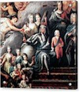 George I (1660-1727) Acrylic Print