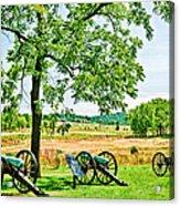 Gettysburg Battleground Acrylic Print