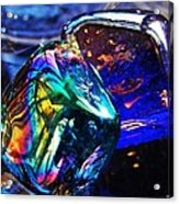 Glass Abstract 682 Acrylic Print