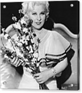 Goin To Town, Mae West, 1935 Acrylic Print
