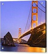 Golden Gate Bridge Acrylic Print by Emmanuel Panagiotakis