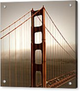 Lovely Golden Gate Bridge Acrylic Print