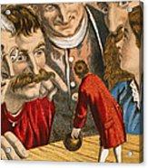 Gullivers Travels Acrylic Print