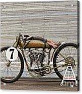 Harley-davidson Board Track Racer Acrylic Print