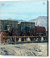 Harmony Borax Works Death Valley National Park Acrylic Print