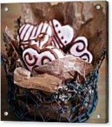 Heart Cookies Acrylic Print