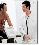 Heart Fitness Test Acrylic Print