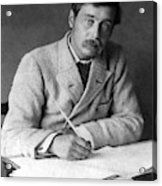 Herbert George Wells (1866-1946) Acrylic Print