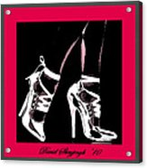 High Heels Acrylic Print by David Skrypnyk