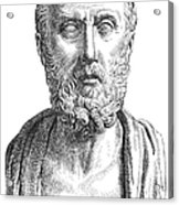 Hippocrates (c460-c377 B.c.) Acrylic Print