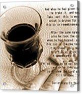 Holy Communion Acrylic Print