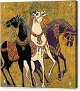 3 Horses Acrylic Print