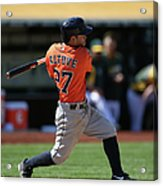 Houston Astros Vs. Oakland Athletics Acrylic Print