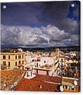 Ibiza Town Acrylic Print