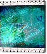 Impressionist Blue Acrylic Print