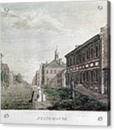 Independence Hall, 1798 Acrylic Print