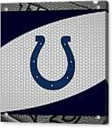 Indianapolis Colts Acrylic Print by Joe Hamilton