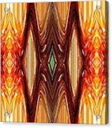 Intrepid Zigzags Acrylic Print