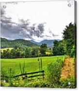 Iotla Valley Acrylic Print